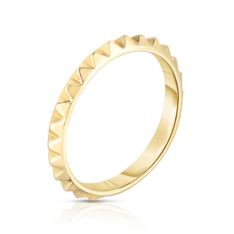 Stackable Eternity Spike Ring
