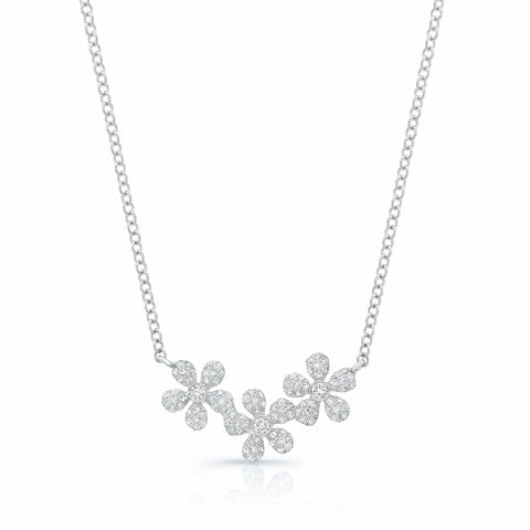 Flower Trio Necklace