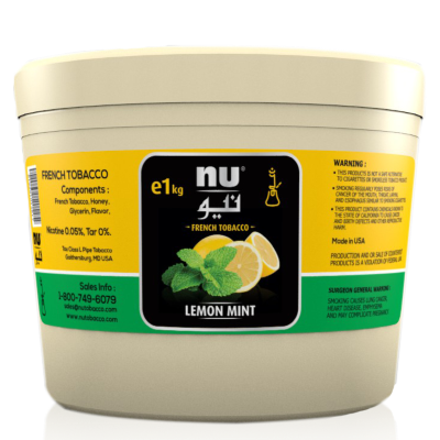 Review - Nu Hookah Tobacco - Lemon Mint