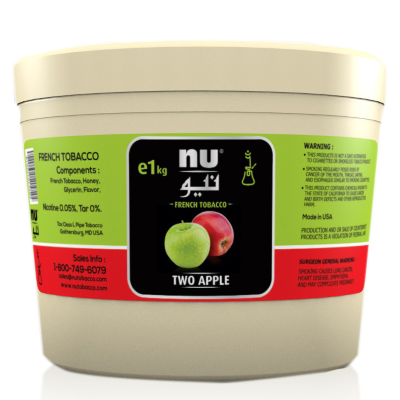 Review - Nu Hookah Tobacco - Two Apple