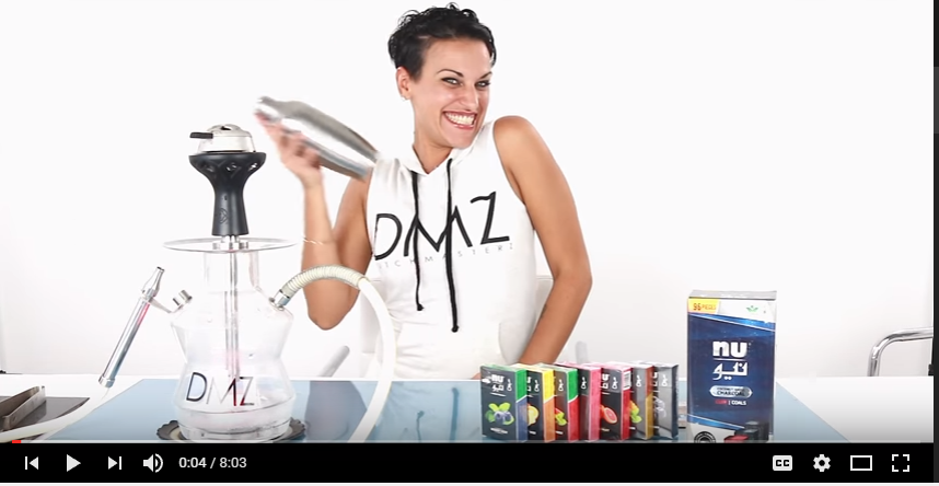 Shisha Mixology - Nu Tobacco - DMZ Tv