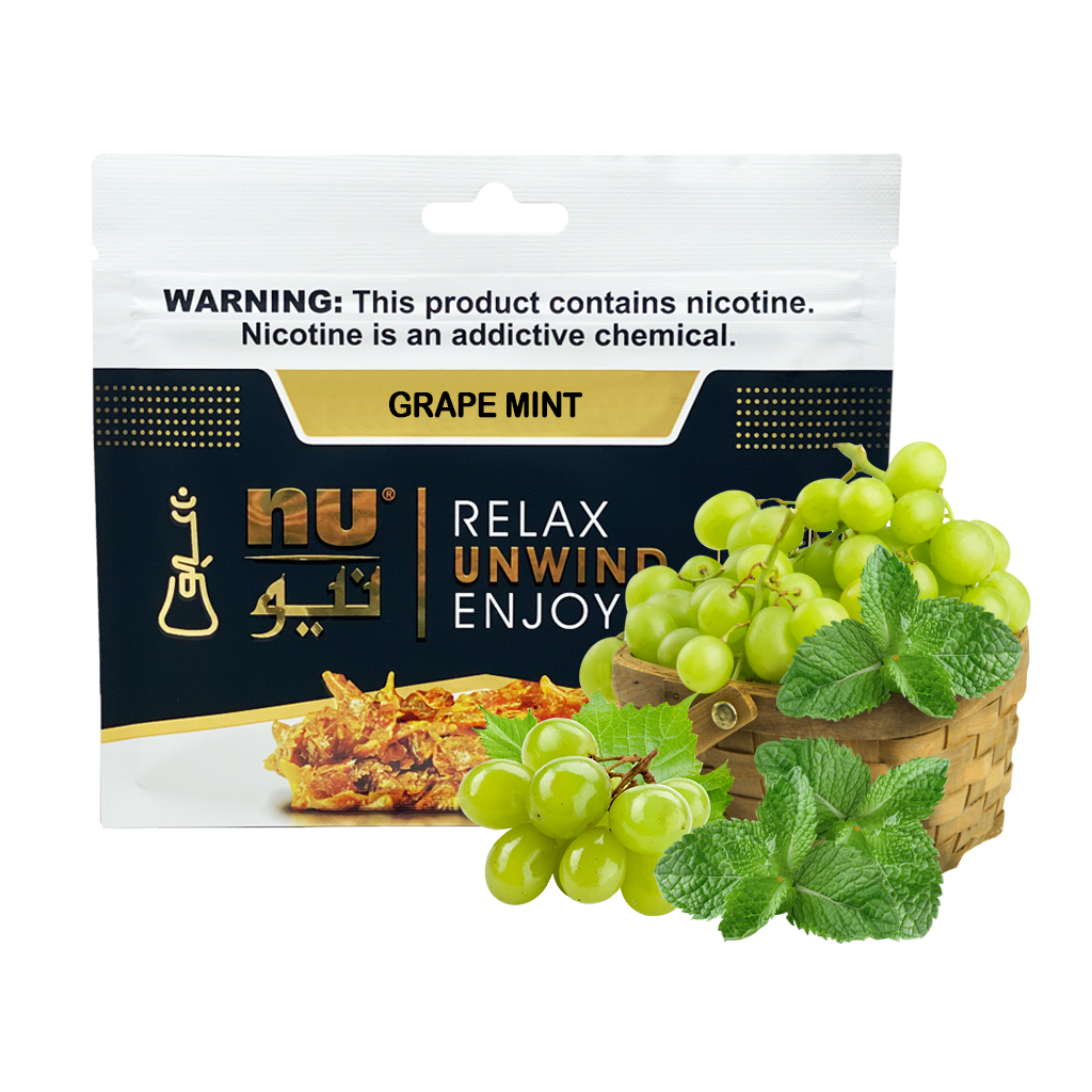 Nu Grape Mint Pouch 100g