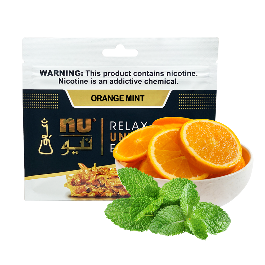 Nu Orange Mint Pouch 100g