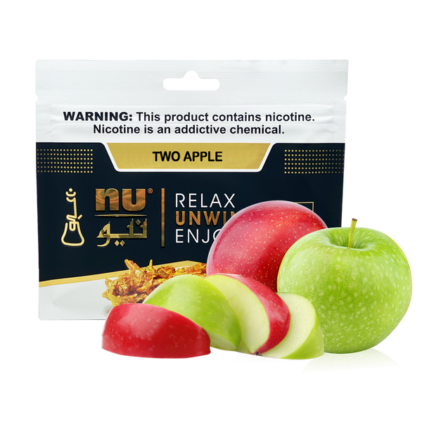 Nu Two Apple 100g pouch tobacco
