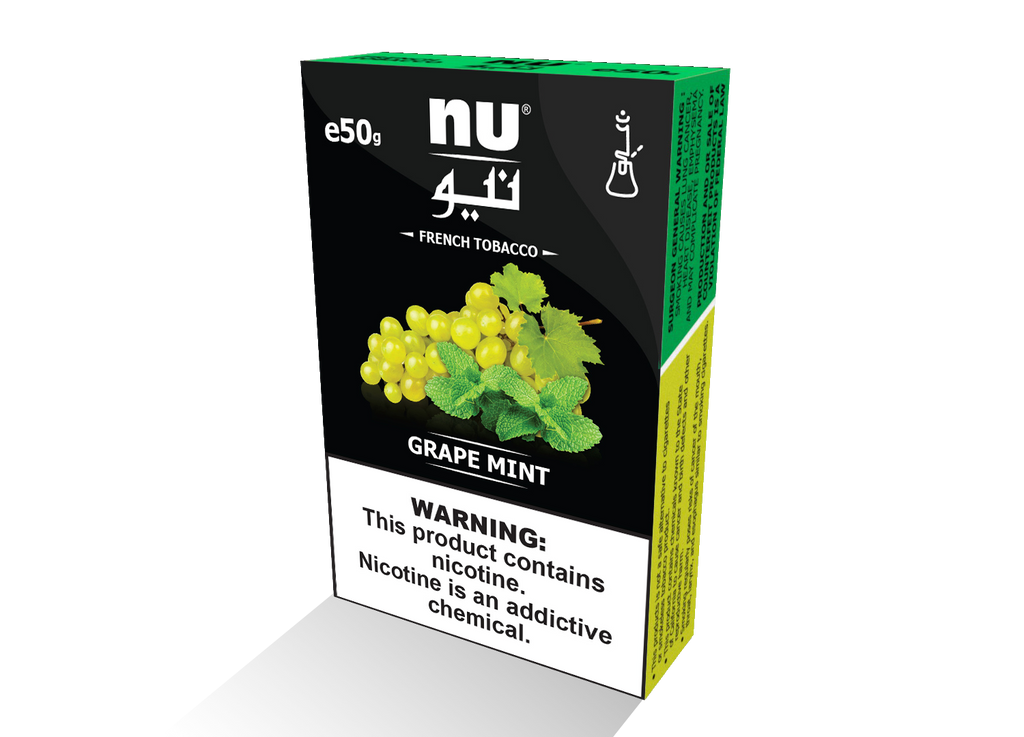 NU grape mint 50g