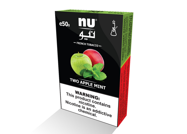 NU two apple mint 50g