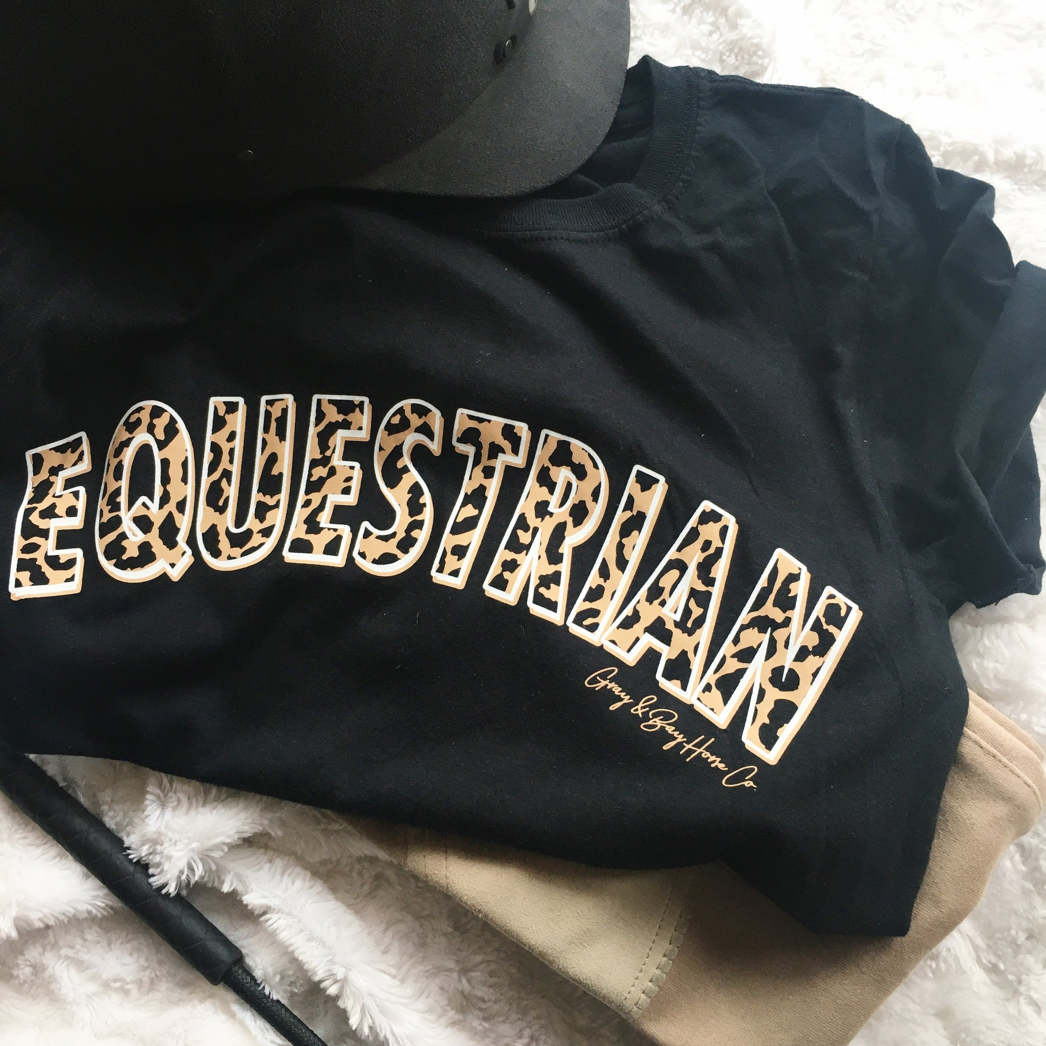 FALL 2020 - The Leopard EQUESTRIAN T-Shirt SLIM FIT