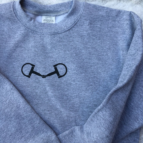 KIDS - D-Ring Bit Crew - Gray & Bay Horse Co.