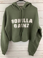 Often Imitated Crop Hoodie