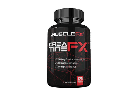 MUSCLE FX CREATINE FX 120 VEG CAPS.