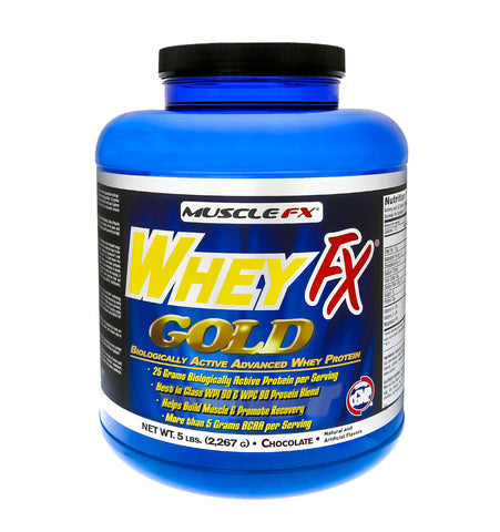 Muscle FX Whey FX Gold 5 Pound
