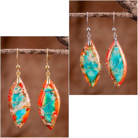orange-blue-leaves-jasper-drop-earrings