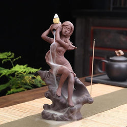 Beautiful Girl Incense Burner