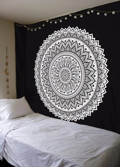 Beautiful Mandala Tapestry Tapestry Boho Peak G79 200cmx150cm