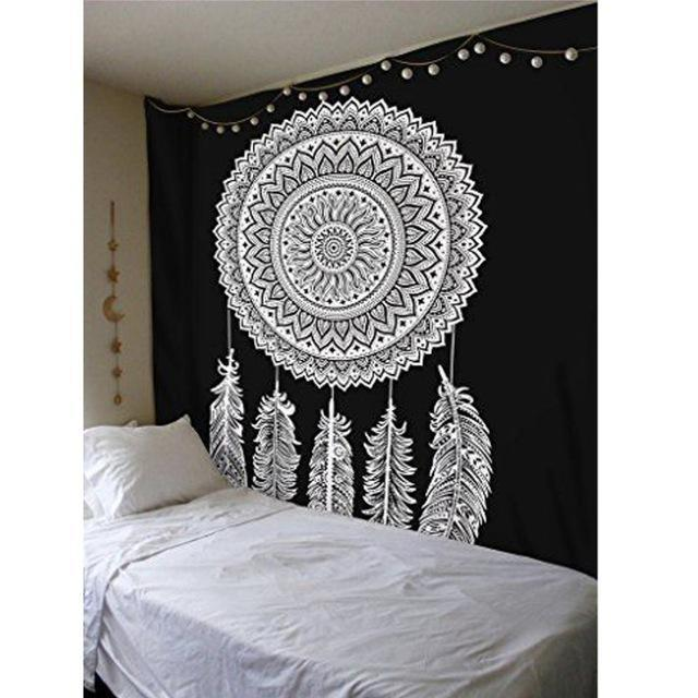 Beautiful Mandala Tapestry Tapestry Boho Peak J50 200cmx150cm