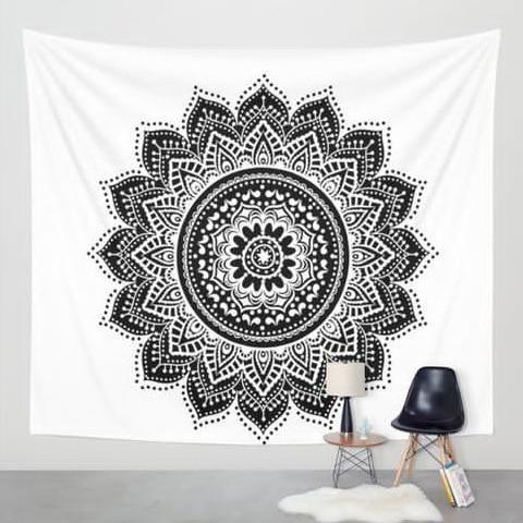 Beautiful Mandala Tapestry Tapestry Boho Peak M3 200cmx150cm