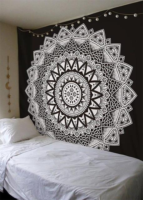 Beautiful Mandala Tapestry Tapestry Boho Peak O64 200cmx150cm