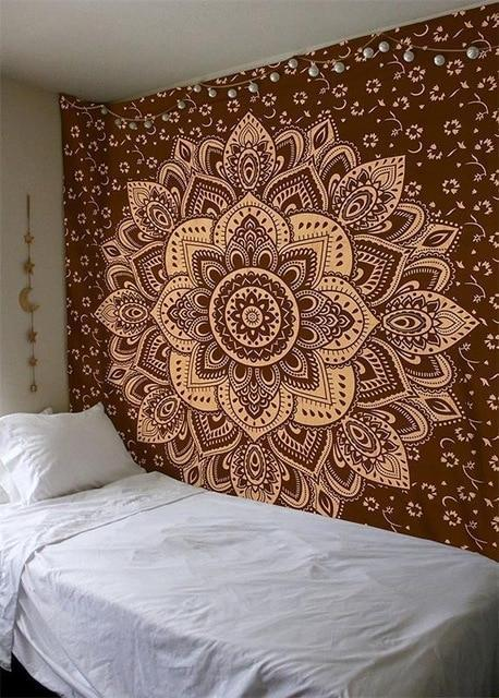 Beautiful Mandala Tapestry Tapestry Boho Peak O66 200cmx150cm