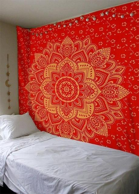 Beautiful Mandala Tapestry Tapestry Boho Peak O70 200cmx150cm