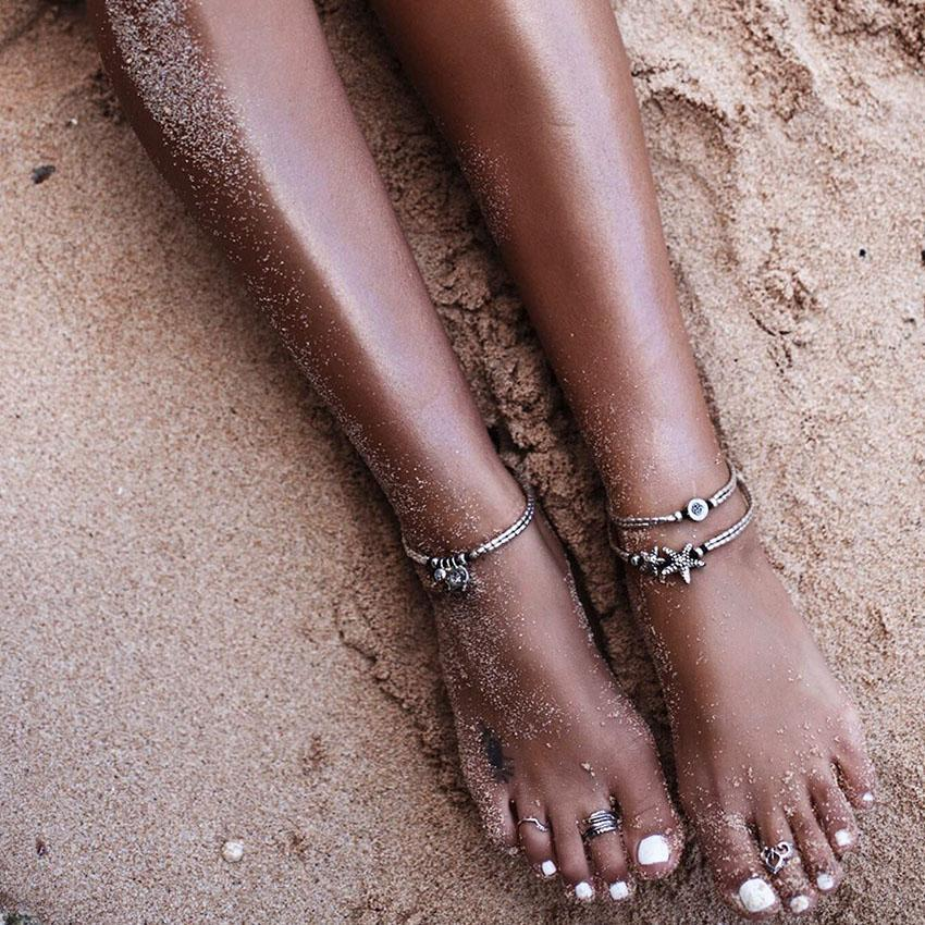 (Best Seller) Cute Boho Starfish Anklet Starfish Anklet