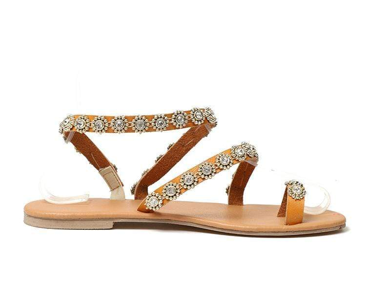 Bling Crystal Sandals Photo Color / 5