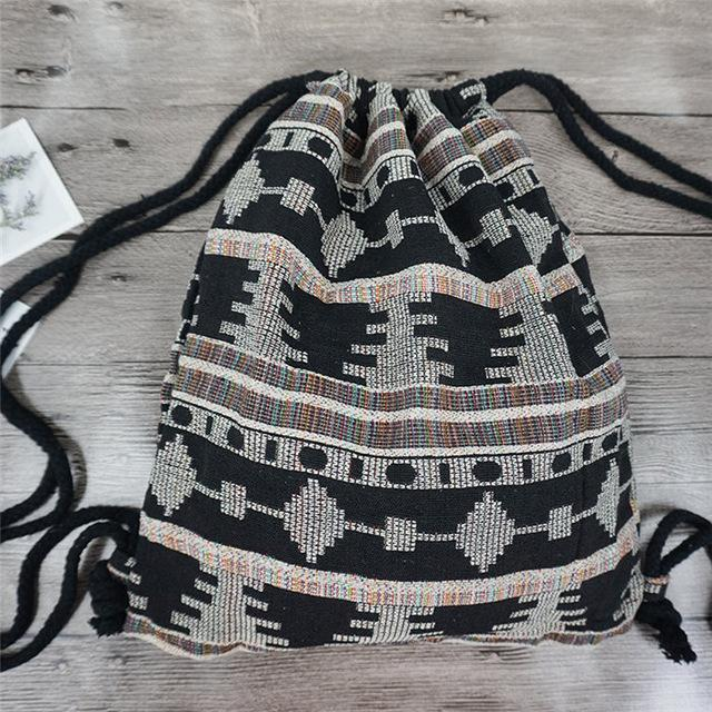 Bohemian Drawstring Backpack NO 3 misc