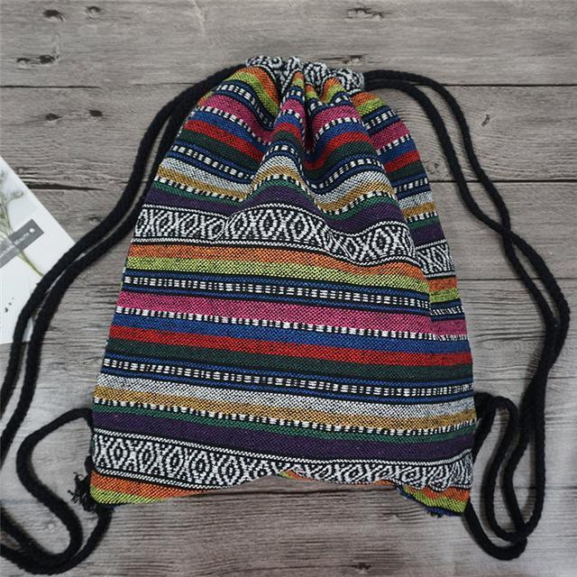 Bohemian Drawstring Backpack NO 5 misc