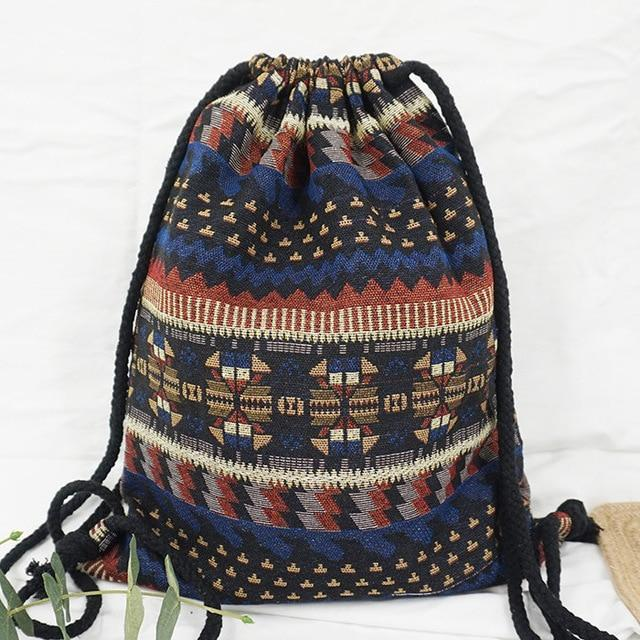 Bohemian Drawstring Backpack NO 7 misc