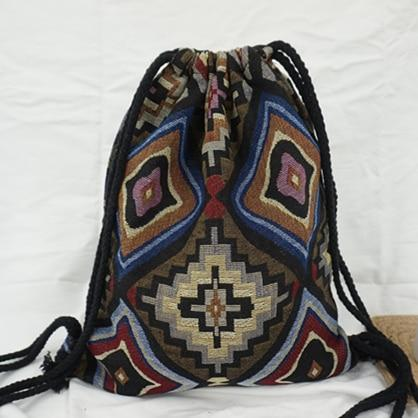 Bohemian Drawstring Backpack NO 9 misc