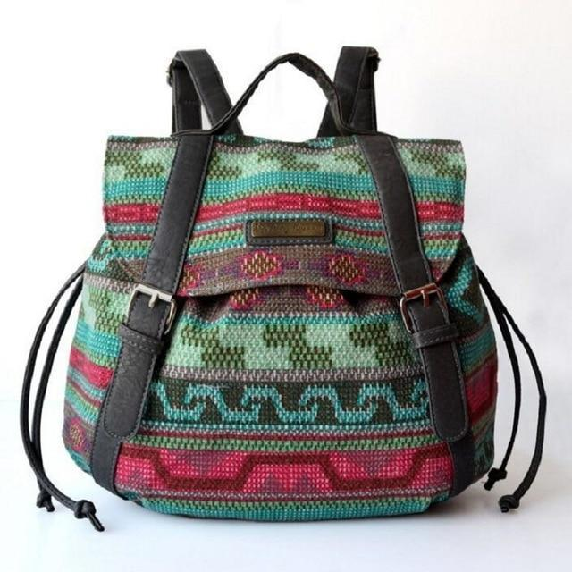 Nomad Folk Backpack Boho Peak Default Title