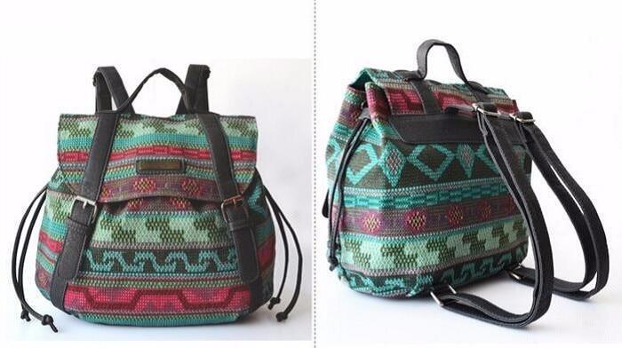 Nomad Folk Backpack Boho Peak