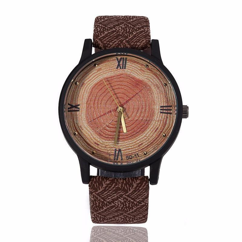 Nomad™ - The Naturalist's Watch Watch Boho Peak Dark Brown