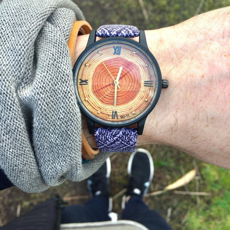 Nomad™ - The Naturalist's Watch Watch Boho Peak Purple