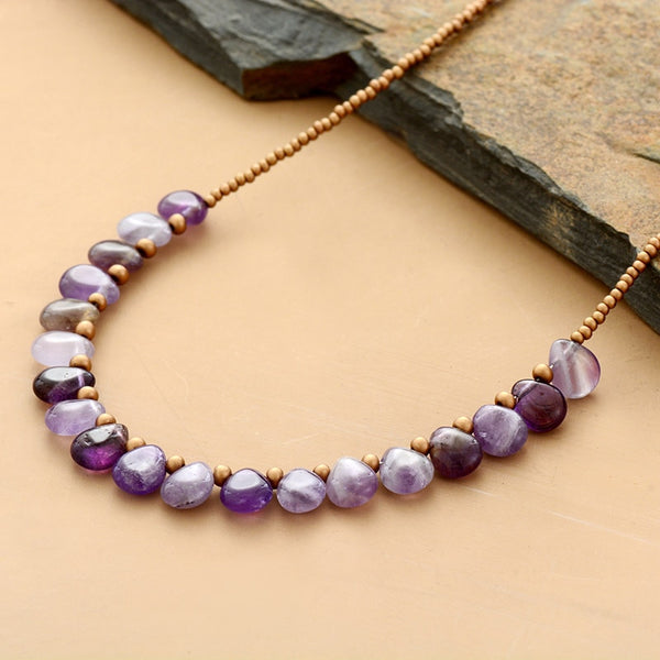 Loving Spirit Amethyst Necklace