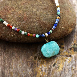 Wave of Calm Amazonite Necklace