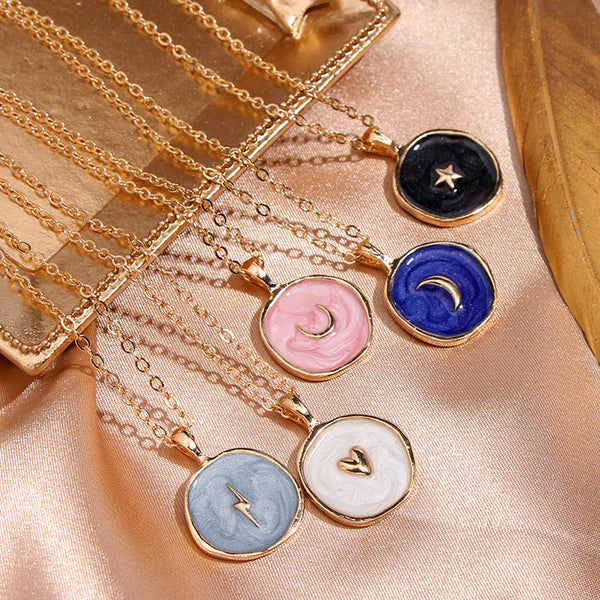 Moon & Stars Necklace Collection