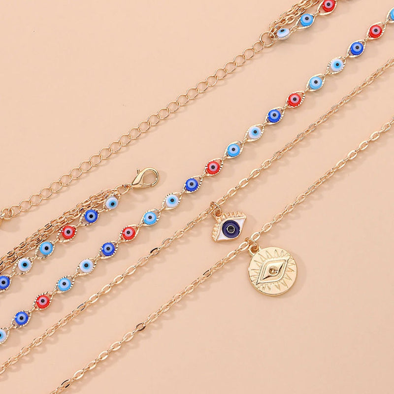 Evil Eye Amulet Necklace