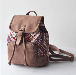 The Bohemian's Backpack Bags Boho Peak Lavender