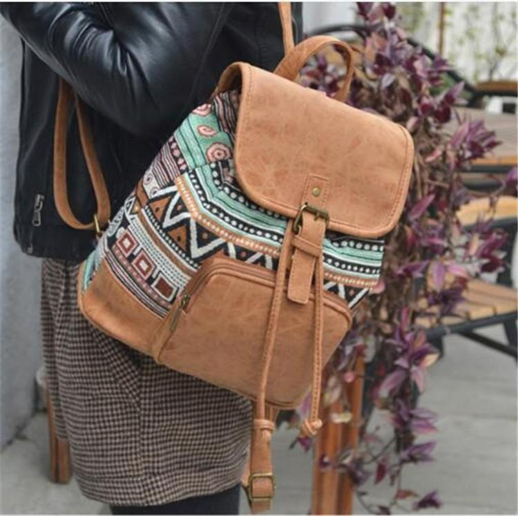 The Bohemian's Backpack Lavender Bags