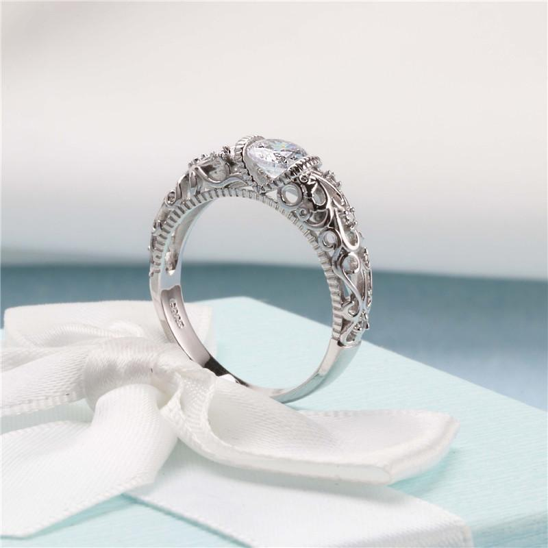 The Midnight Frost Ring Boho Peak