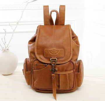 Vintage Boho Backpacks brown Bags