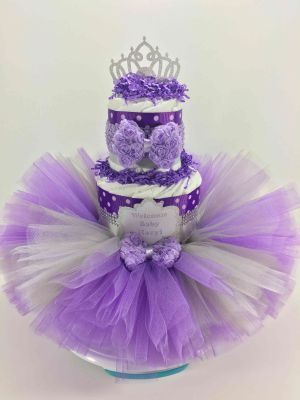 How to Make a Tutu Diaper Cake