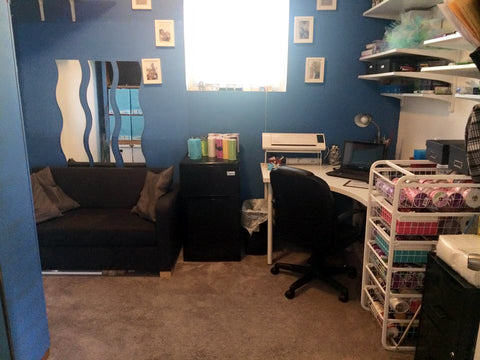 Craftroom makeover, after