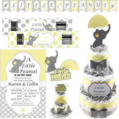 Little Peanut Baby Shower Collection