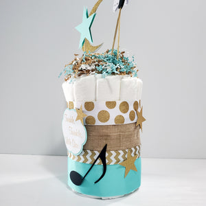 Twinkle, Twinkle, Little Star Diaper Cake Centerpiece