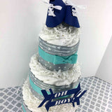 Oh Boy! Arrows Diaper Cake Centerpiece