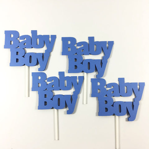 Baby Boy Diaper Cake Toppers