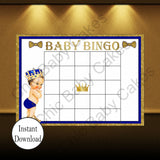 Little Prince Baby Shower Game Pack, Brunette