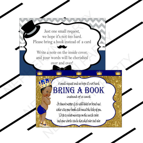 Custom Bring A Book Cards