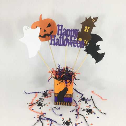 Happy Halloween Party Centerpiece